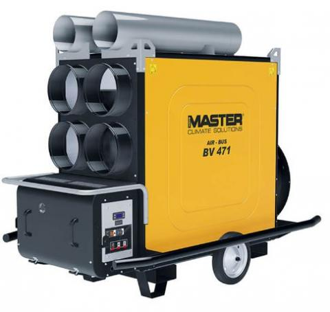Master AIR-BUS BV 471S Indirect Heater