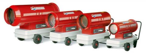 Diesel Space Heater Hire