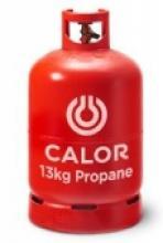 13kg Red Calor Propane Bottle